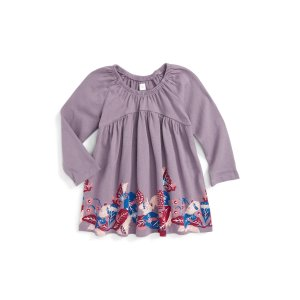Tea Collection Zappai Graphic Dress (Baby Girls)