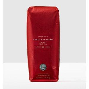 Christmas Blend Vintage 2016, Whole Bean | Starbucks® Store