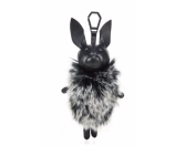 KENDALL + KYLIE - Norman Leather & Faux Fur Keychain - Saks.com
