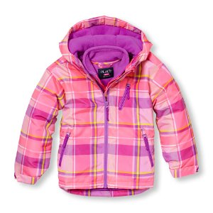 Girls Long Sleeve Printed Hooded 3-In-1 Jacket | The Children's Place