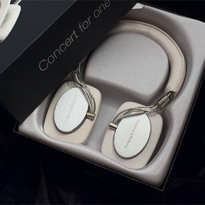 $92.56 Bowers & Wilkins P5 Recertified Headphones, Ivory