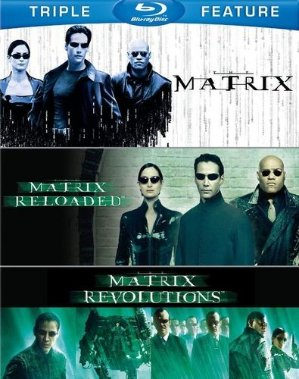 $7.96The Matrix/TheMatrix Reloaded/TheMatrix Revolutions [3 Discs] [Blu-ray]