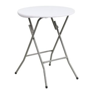 $14.78 史低价Flash Furniture 24'' 圆形可折叠桌