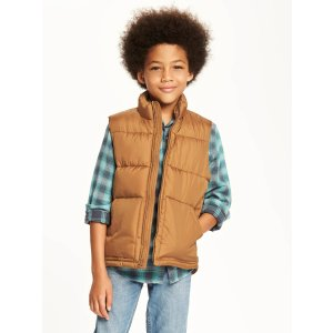 Frost-Free Quilted Vest for Boys | Old Navy