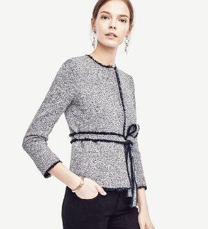 Belted Tweed Jackets