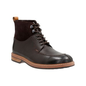 Clarks Brown Pitney Hi Leather Lace-Up Boot | zulily
