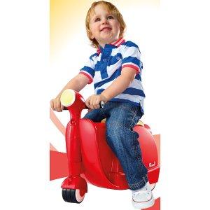 Diggin Active Skootcase Ride-On - Red - Diggin Active Inc - Toys