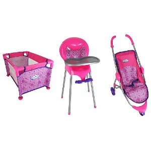 Graco Room Full of Fun Baby Doll Playset
