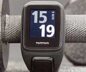 TomTom Spark Cardio + Music GPS Fitness Watch