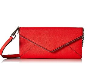 $53.09 Rebecca Minkoff Cleo Wallet On A Chain Cross-Body Bag