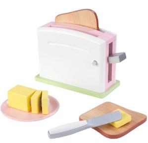 KidKraft Uptown Pastel Toaster Set