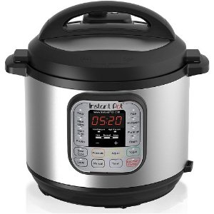 $69.99 Instant Pot IP-DUO60 7-in-1 Multi-Functional Pressure Cooker, 6Qt/1000W