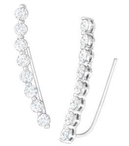 Ear Crawlers with Cubic Zirconia