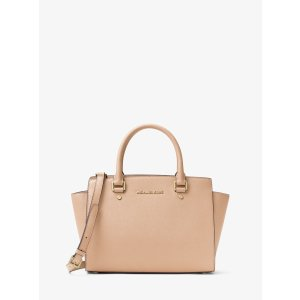 Selma Saffiano Leather Medium Satchel by Michael Kors | Spring - Free Shipping. On Everything