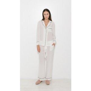 Equipment Avery Pajama Set | The Dreslyn