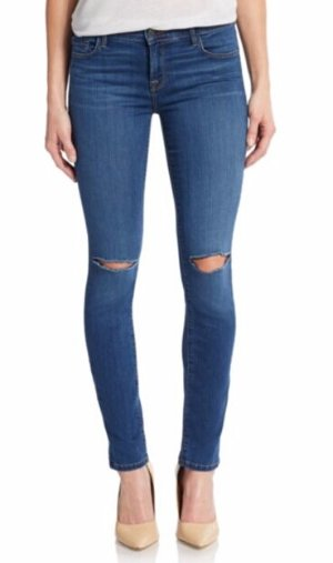 J BRAND Ripped Knee Skinny Jeans @ Saks Off 5th