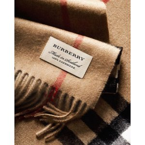 Up to 60% Off + Extra 35% Off Burberry Scarf Sale @ Neiman Marcus