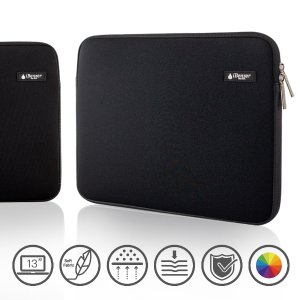 iBenzer Deluxe Laptop Sleeve Bag Cover Case for All 13-inch laptop computers