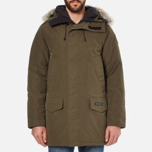 Canada Goose Men's Langford Parka - Military Green - Free UK Delivery over £50