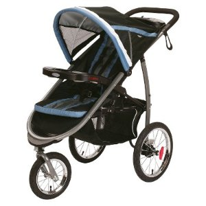 Graco Fastaction Fold Jogger Click Connect Stroller, Bijou