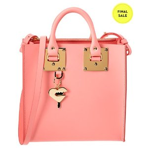 Sophie Hulme Albion Leather Square Tote