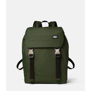 Tech Travel Nylon Army Backpack - JackSpade