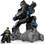 $45 Fisher-Price Imaginext DC Super Friends RC Transforming Bat Bot