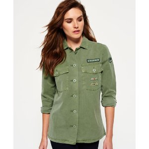 Superdry North Military Shirt - Women's Shirts