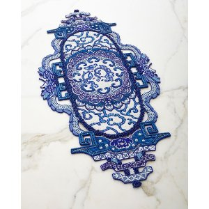 Kim Seybert Chinoiserie Table Runner