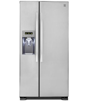 $799.99Kenmore 51813 21.9 cu. ft. Side-by-Side Refrigerator w/ Dispenser Stainless Steel