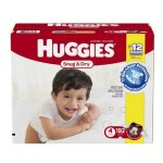 Prime Member Only! Huggies Snug & Dry @ Amazon