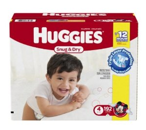 20% Off + Extra 20% OffPrime Member Only! Huggies Snug & Dry @ Amazon