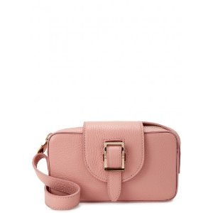 Meli Melo Microbox pink leather cross-body bag