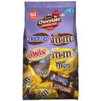 $7.98 MARS Chocolate Favorites Fun Size Candy Bars Variety Mix 33.9-Ounce 60-Piece Bag