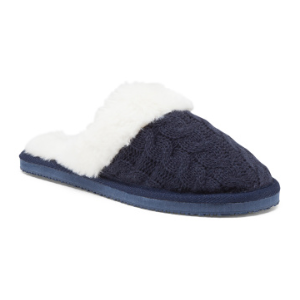 Cable Knit Scuff Slippers - Gifts For Women - T.J.Maxx
