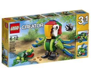 LEGO Creator Rainforest Animals