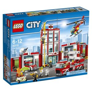 $63.99 LEGO CITY Fire Station 60110