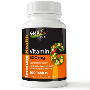 GMP vitas® Vitamin-C 500mg (100 Tablets)
