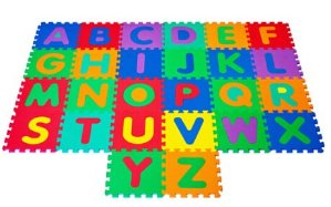 $14.97 Trademark Games Foam Build & Play Alphabet Puzzle Play Mat