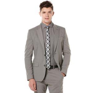 Very Slim Iridescent Twill Suit Jacket