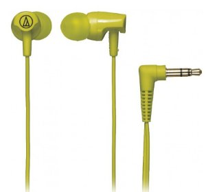 Audio Technica SonicFuel In-Ear Headphones (Lime Green)