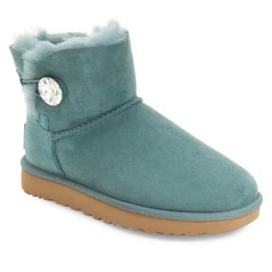 UGG® Australia 'Mini Bailey Button Bling' Boot (Women)   Nordstrom