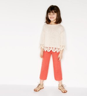 Starting at $3.99Select Kid and Baby's Clothes @ Zara