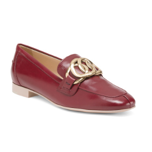 Made In Italy Leather Loafers - Made In Italy - T.J.Maxx