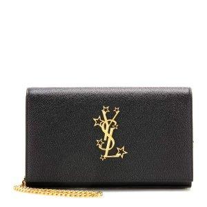 SAINT LAURENT Monogram Chain Wallet leather shoulder bag