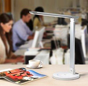 $22.99Lightning deal! TaoTronics LED Desk Lamp Eye-caring Table Lamp, Energy Efficient LED Lamp(12W, Dimmable