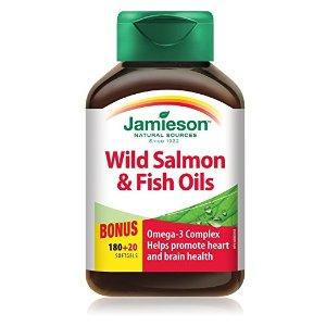 深海三文鱼油Omega-3复合软胶囊 1000 mg