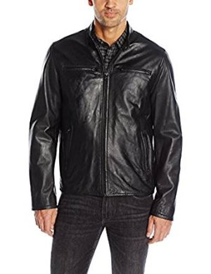 Levi's Men's Smooth Lamb Leather Racer Jacket