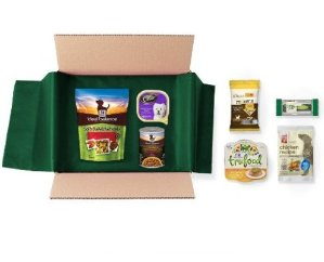 $9.99 Dog Food and Treats Sample Box, 7 or more samples ($9.99 credit with purchase)