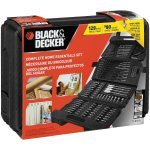 BLACK+DECKER Drilling and Driving Complete Home Essentials Set (129-Piece)